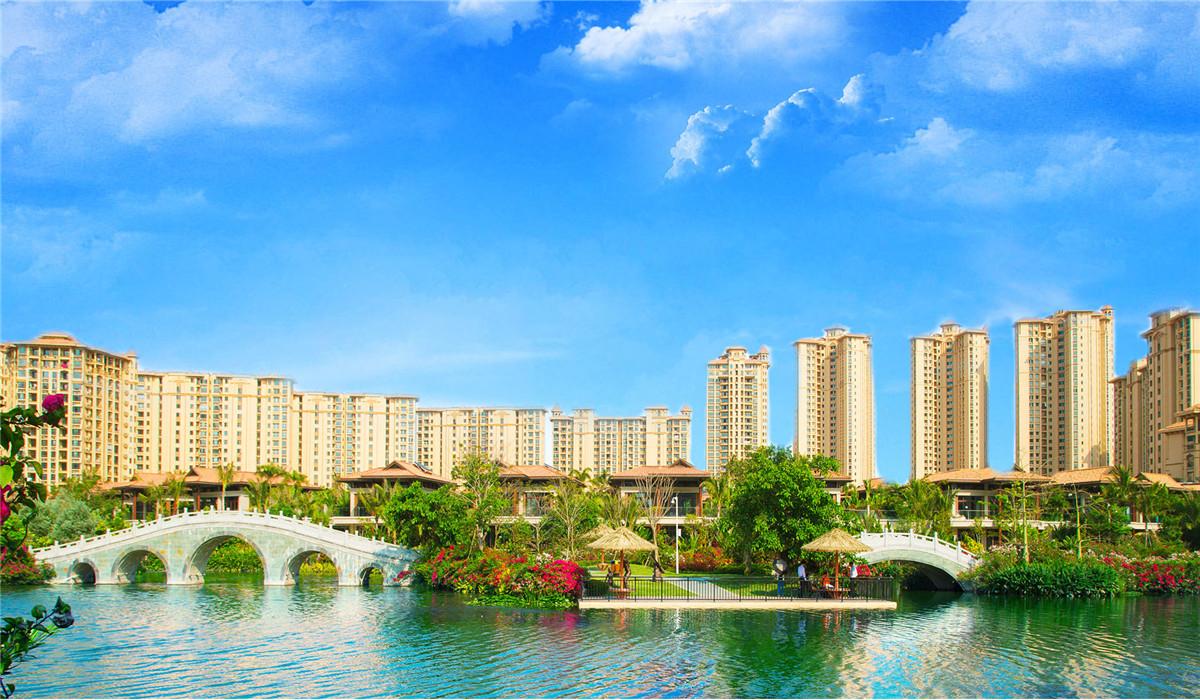 海南房产项目环境实景图
