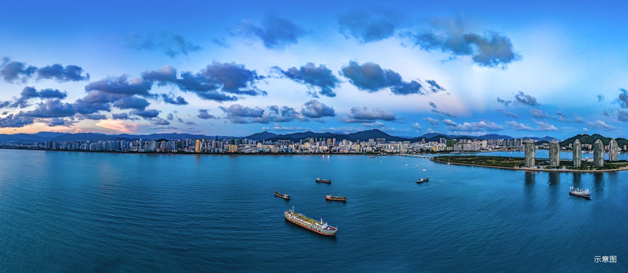 海口市宜居环境实景图