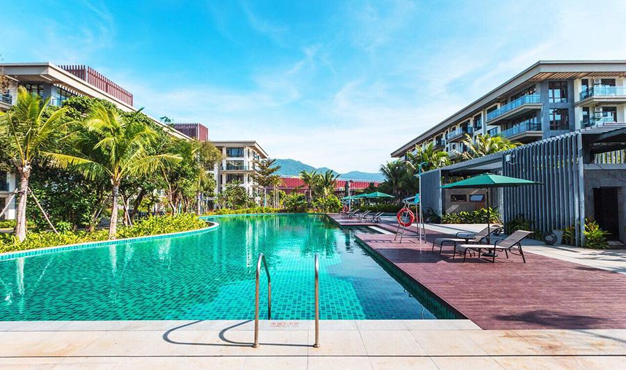 海南三亚市房产环境实景图